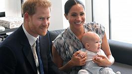 Princ Harry s manželkou Meghan a synem Archiem v Kapském Městě