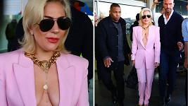 Začátek turné Lady Gaga: Na evropskou půdu vstoupila hvězda v růžovém.
