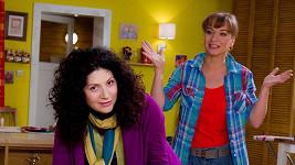 Martha a Sandra se při natáčení vyřádily.
