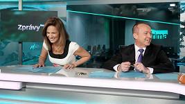 Nestabilní posuvná židle měla za důsledek nefalšovaný záchvat smíchu.