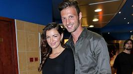 Jitčin hlas ve filmu si přišel poslechnout i její partner Adam Klavík.