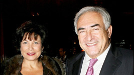 Dominique Strauss-Kahn s manželkou Anne Sinclair.