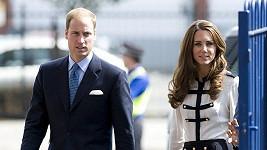 Vévodkyně je vedle Williama opravdu hodně štíhlá.