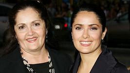 Salma Hayek s maminkou Dianou (archivní foto)