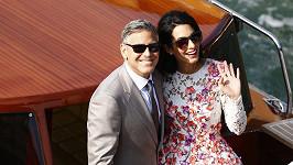 George Clooney vzal svou manželku na Seychely.