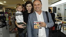 Karel Zaňák s rodinou