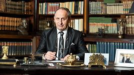 Jan Kraus jako prezident Václav Wolf