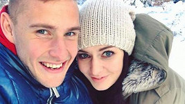 Tereza Chlebovská a Pavel Kadeřábek jsou pořád moc šťastní.