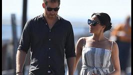 Australská tour vévody a vévodkyně ze Sussexu pokračovala na ostrově Fraser.