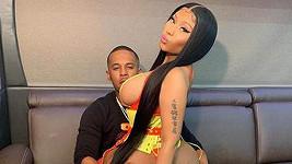 Nicki Minaj s partnerem Kennethem Pettym