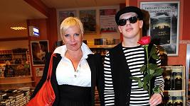 Kateřina Kornová se synem Filipem.