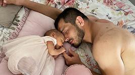 Machmud Muradov s dcerou
