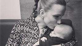 Michaela Maurerová půl roku po porodu řeší nepříjemný problém.