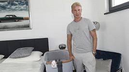 Robert Paulat připravil synovi stylový pokojíček