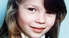 Kate Moss v dětství.
