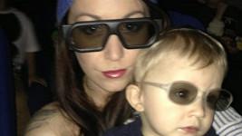 Agáta a Kryšpín v 3D brýlích