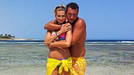 Sandra a Michal si týdenní dovolenou skvěle užili.