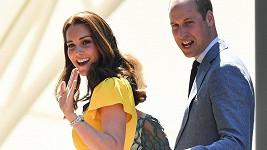 Vévodkyně Kate s manželem Williamem