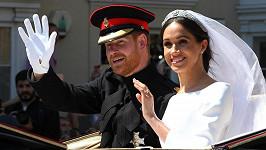 Princ Harry a Meghan Markle po svatbě 19. května 2018