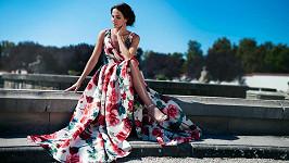 Radka Rosická si po čase zase vyzkoušela roli modelky.
