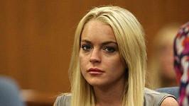 Lindsay Lohan skončil trest domácího vězení.