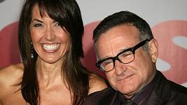 Robin Williams a jeho manželka Susan Schneider