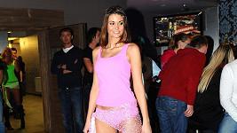 Lucie Smatanová má dokonalé tělo.