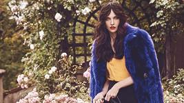 Krásná Iva zpátky v roli modelky.