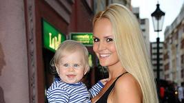 Lucie Hadašová s dcerou Deniskou.