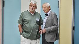 Kardiochirurg Jan Pirk s hercem Petrem Štěpánkem
