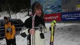 Martin Trnavský na lyžích