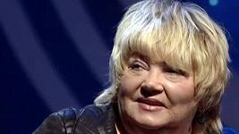 Foto z posledního vystoupení Věry Špinarové v televizi