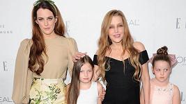 Lisa Marie Presley s dcerami Riley, Harper a Finley