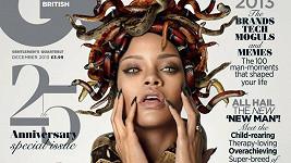 Rihanna na obálce časopisu opět zvládla být originální...