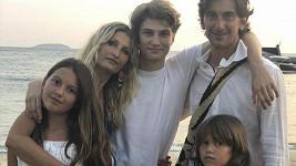 Tereza se svou krásnou rodinou