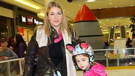 Karla Mráčková s dcerou Karlou juniorkou