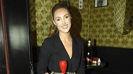Modelka a ředitelka soutěže Miss Taťána Makarenko