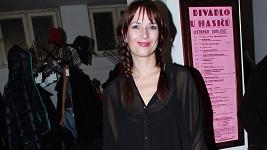 Tereza Kostková si nenechala ujít premiéru manželovy nové hry.
