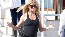Goldie Hawn nemá ráda podprsenky.