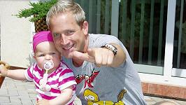 Martin Kocián s dcerou
