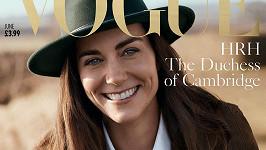 Debut vévodkyně Catherine v magazínu Vogue