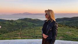 Kateřina Brožová vyrazila do zahraničí.