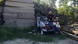 Olga Lounová měla nehodu.