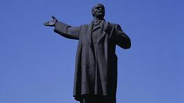 Socha Vladimira Lenina.