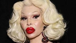 Transgender modelka a fanynka plastické chirurgie Amanda Lepore (49).