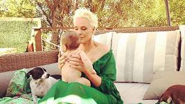Brigitte Nielsen s dcerou Fridou