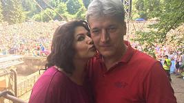 S manželem Radkem bude příští rok Ilona slavit desetileté výročí seznámení.