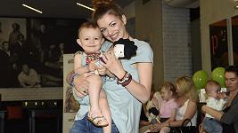 Jitka s dcerkou