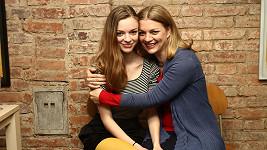 Bára Srncová s dcerou