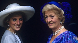 Princezna Diana s matkou Frances Shand Kydd